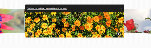 Experimental CSS3 Only Image Slider with 3D Transforms