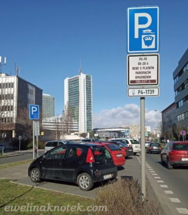 Praga parkowanie