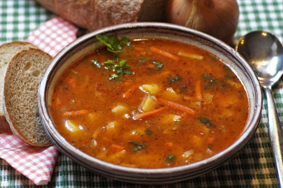 Przepis na zupę gulaszową