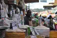 At the Oweio market