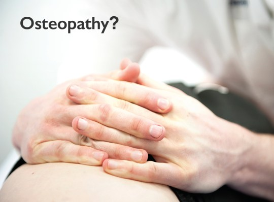 Nescot Osteopathy Clinic Ewell what is osteopathy
