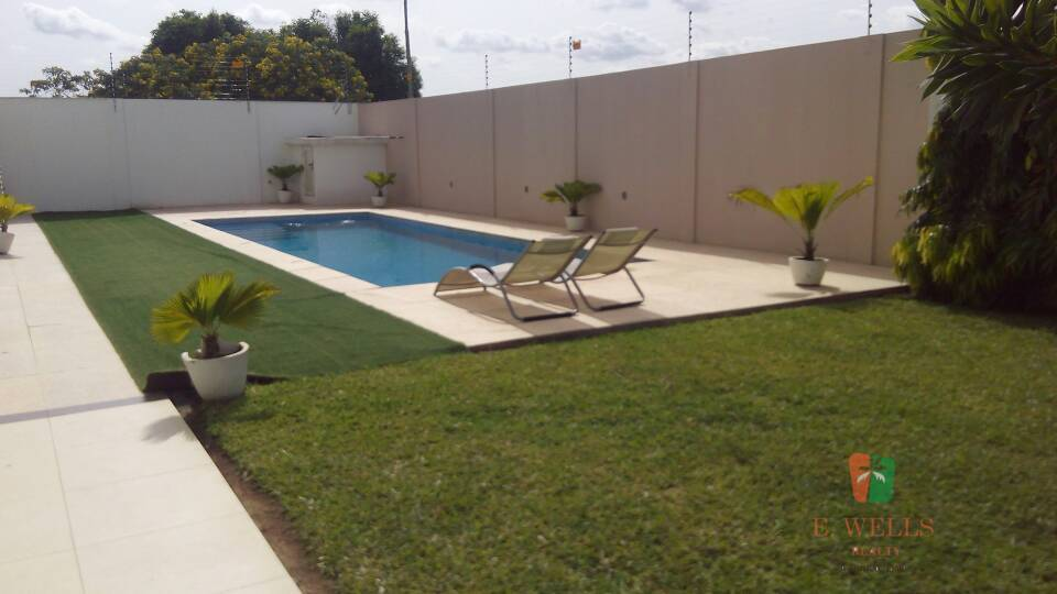 5 Bedroom Ensuite Furnished Townhouse For Rent in East Legon