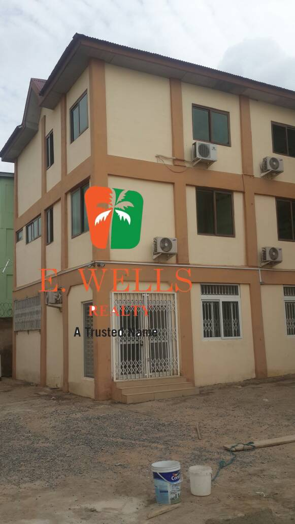 3 Floor Office Complex For Rent At Spintex
