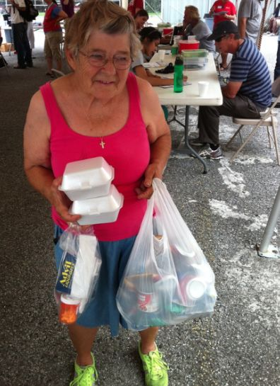 Lorretta is 78 years old and homeless