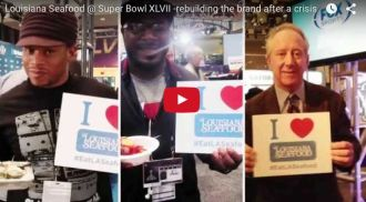Superbowl XLVII with Louisiana Seafood