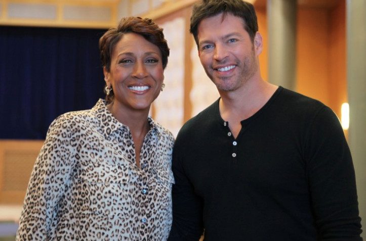 robin roberts harry connick jr