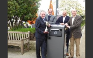 Kommun får utmärkelse med hjälp av BigBelly