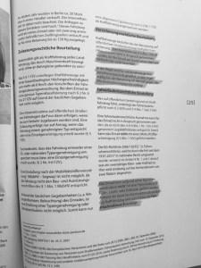Seite 2 des internen Berliner Polizeiberichtes über die gesetzliche Regulierung von elektrischen Einrädern, Solowheels, Airwheels, Hoverboards, Onewheels, Monowheels etc.
