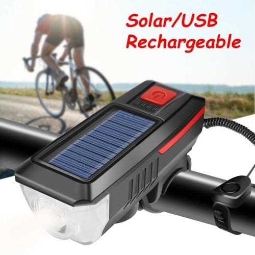 Luz LED carga Solar
