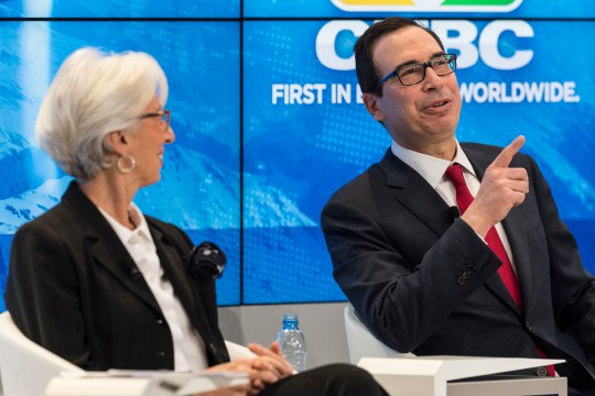 The Latest: IMF's Lagarde warns of complacency on economy