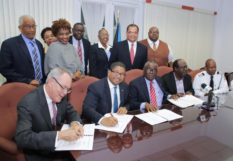 Government signs new Industrial Agreement with the Bahamas Customs, Immigration & Allied Workers Union