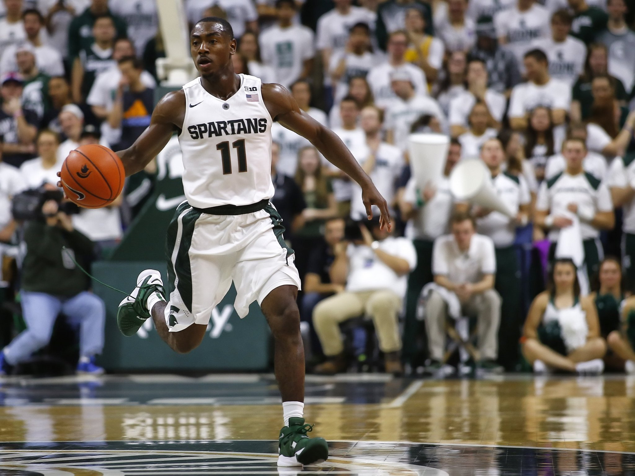 Nairn plays final game at Breslin Center