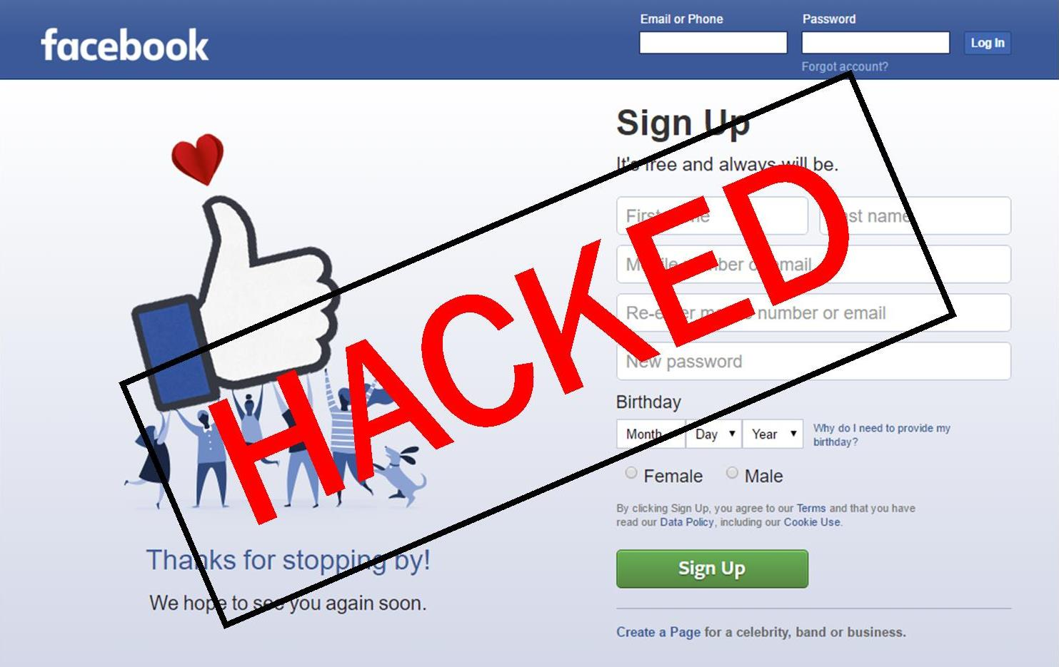Ministers' social media accounts hacked