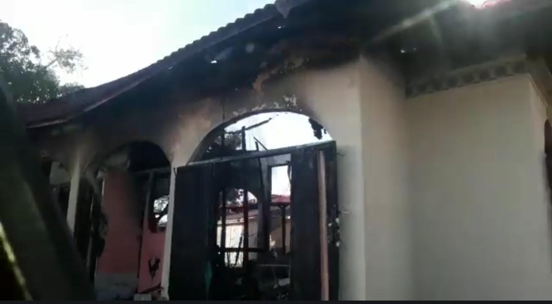Fire destroys International Bazaar