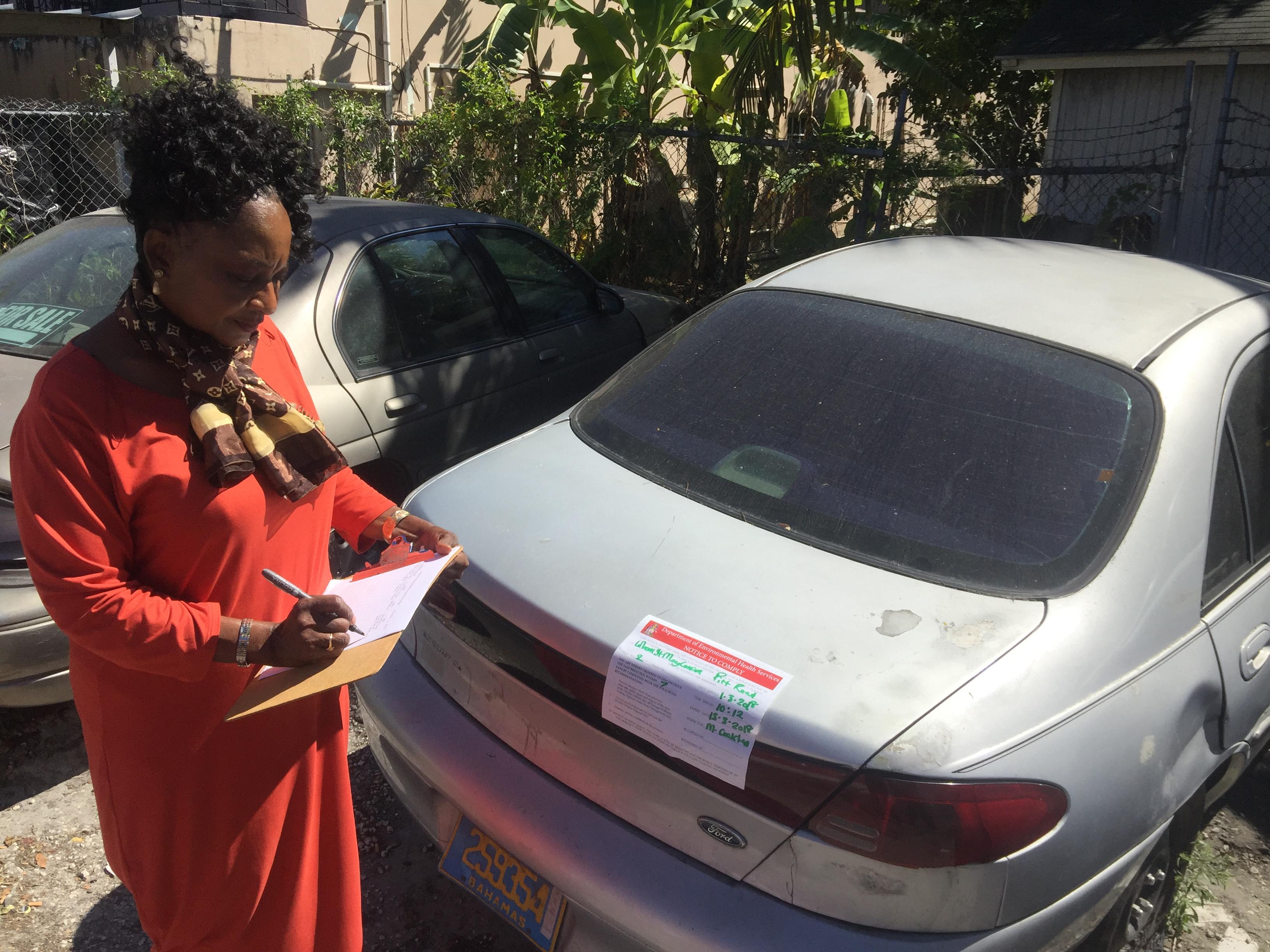 Environmental Health cracks down on derelict vehicles