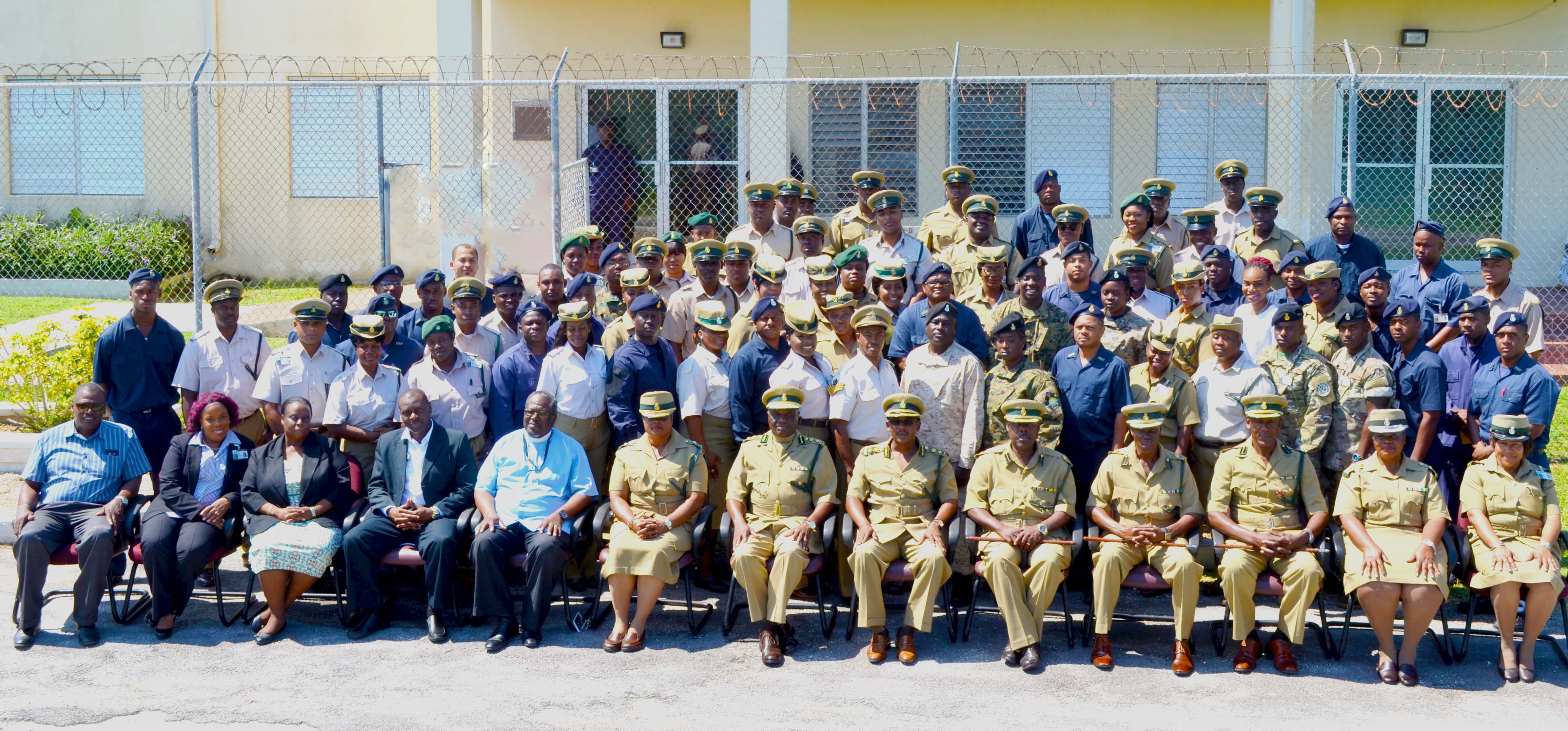Correctional officers promoted