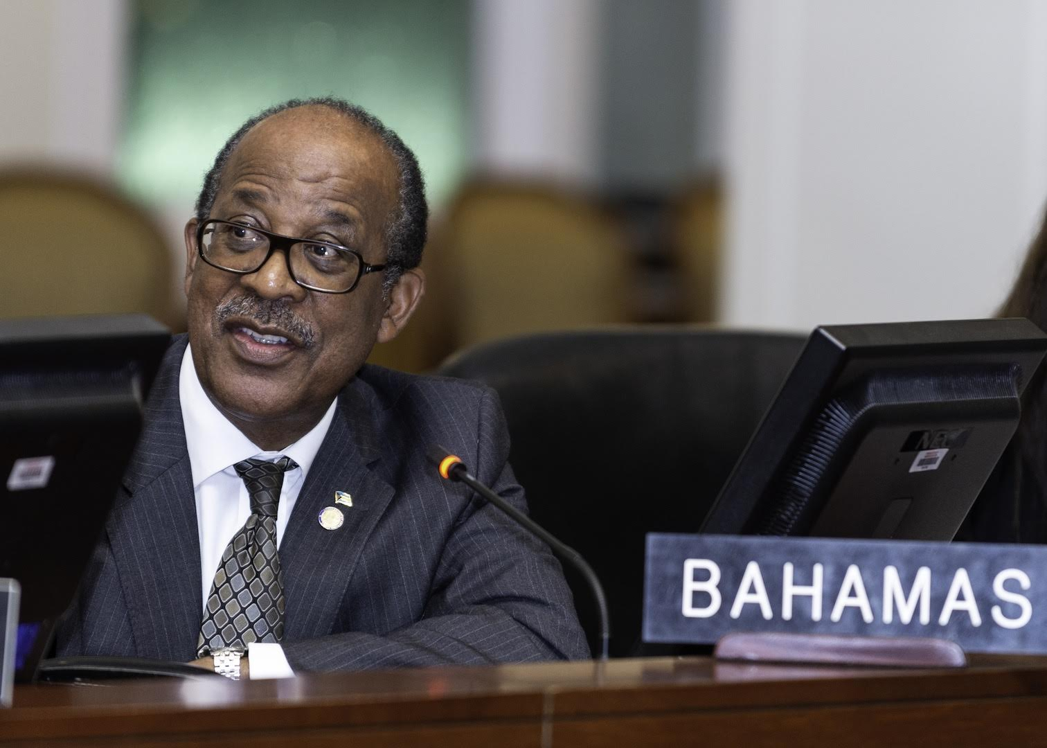 Ambassador Collie concerned over U.S. shutdown impacting The Bahamas
