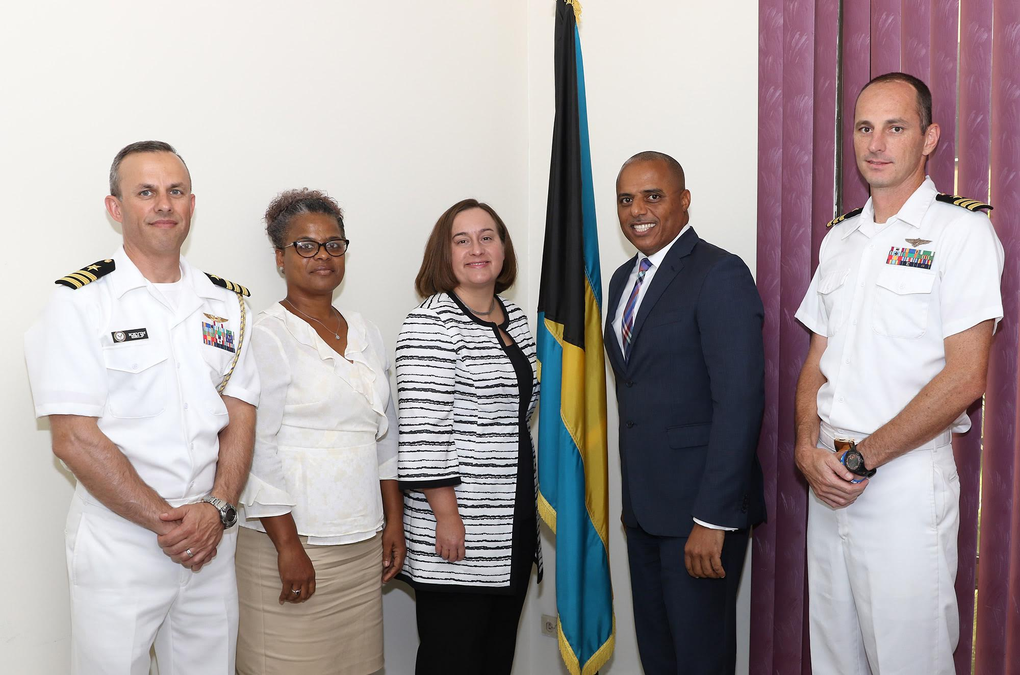 Dames meets US Embassy's incoming senior defense attache