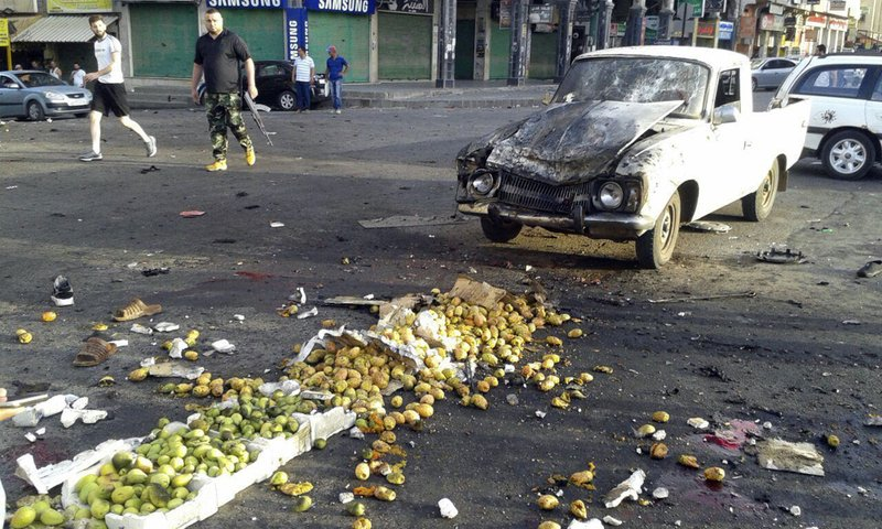 Syrian media: Suicide bombings kill 38 in southern province