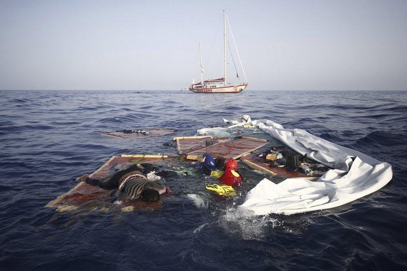 Rescue group: Libya left migrants to die in Mediterranean