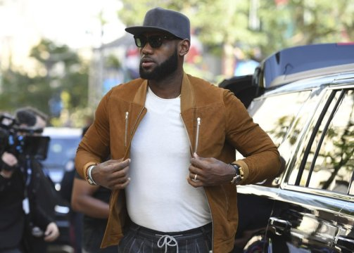 Will LA mean LeBron behind the scenes and on the big screen?