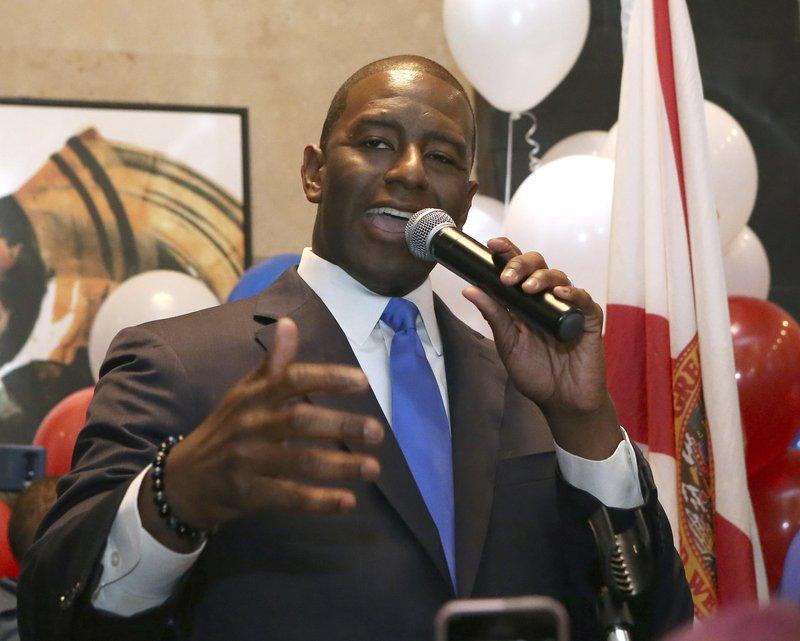 AP: Fla. governor's race pits liberal Dem vs. Trump Republican