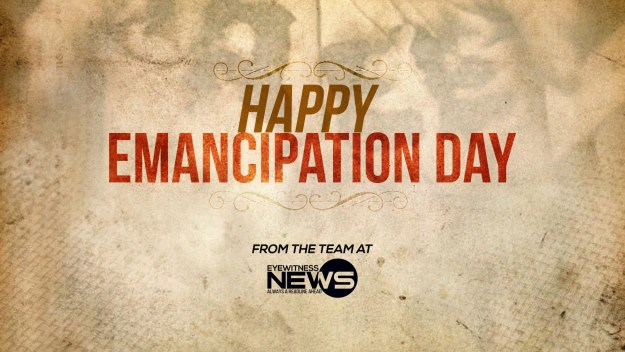Happy Emancipation Day!