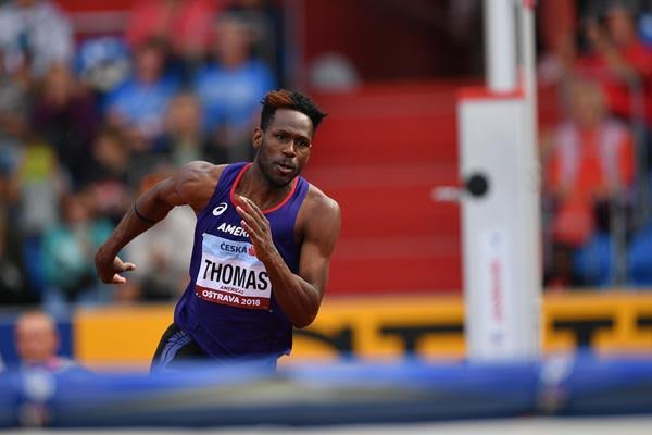 Thomas wins high jump in Ostrava