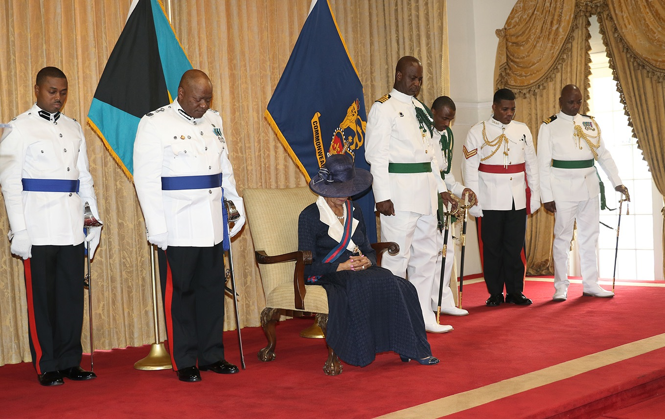Governor General's honours former Aide-de-Camp in a moment of silence