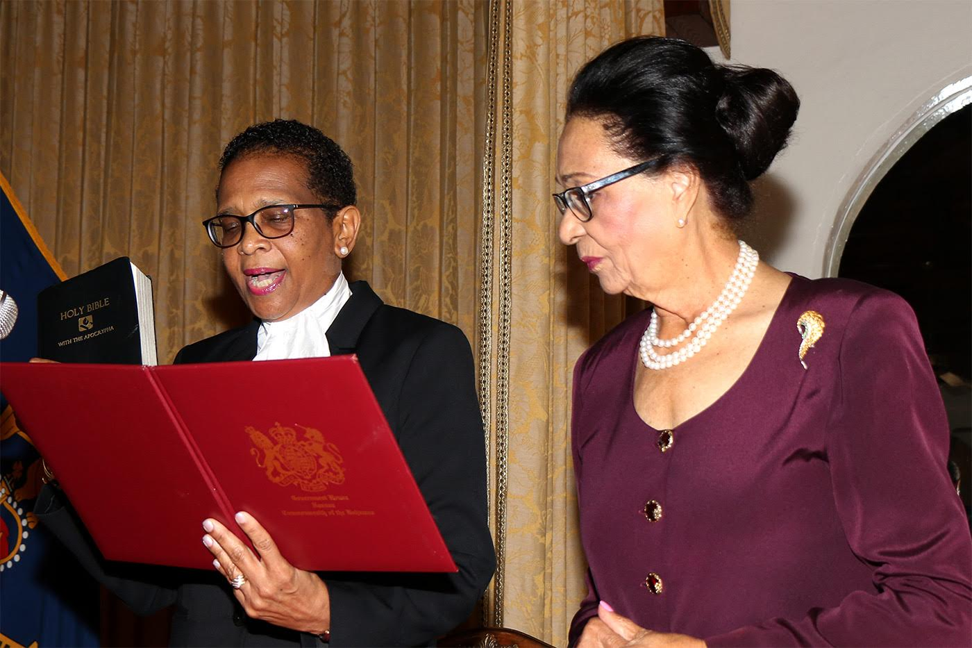 G. Diane Stewart sworn in as Justice of the Supreme Court