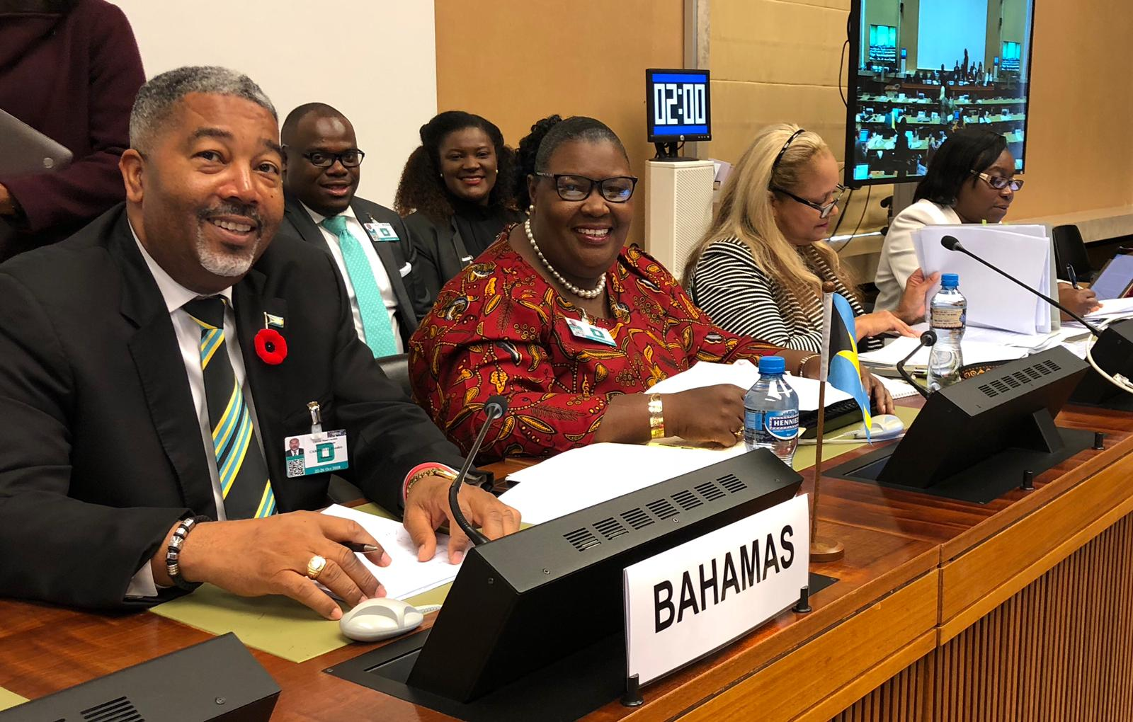 Campbell calls on UN to partner with The Bahamas to protect women, girls rights