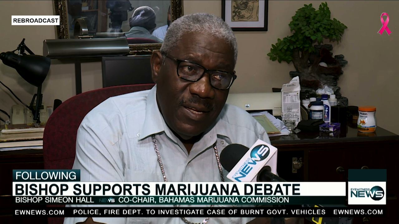 Hall supports legalization of marijuana for medicinal use