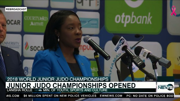 World Judo championships officially launched