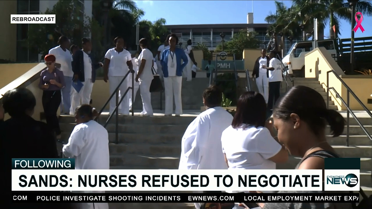 Sands: Nurses Union snubbed PHA's requests to negotiate