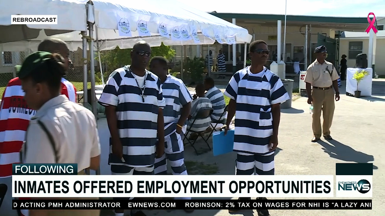 Inmates take part in Labour On The Blocks initiative