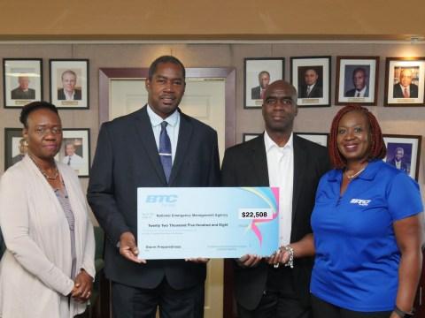 Ragged Island community to benefit from BTC donation to NEMA