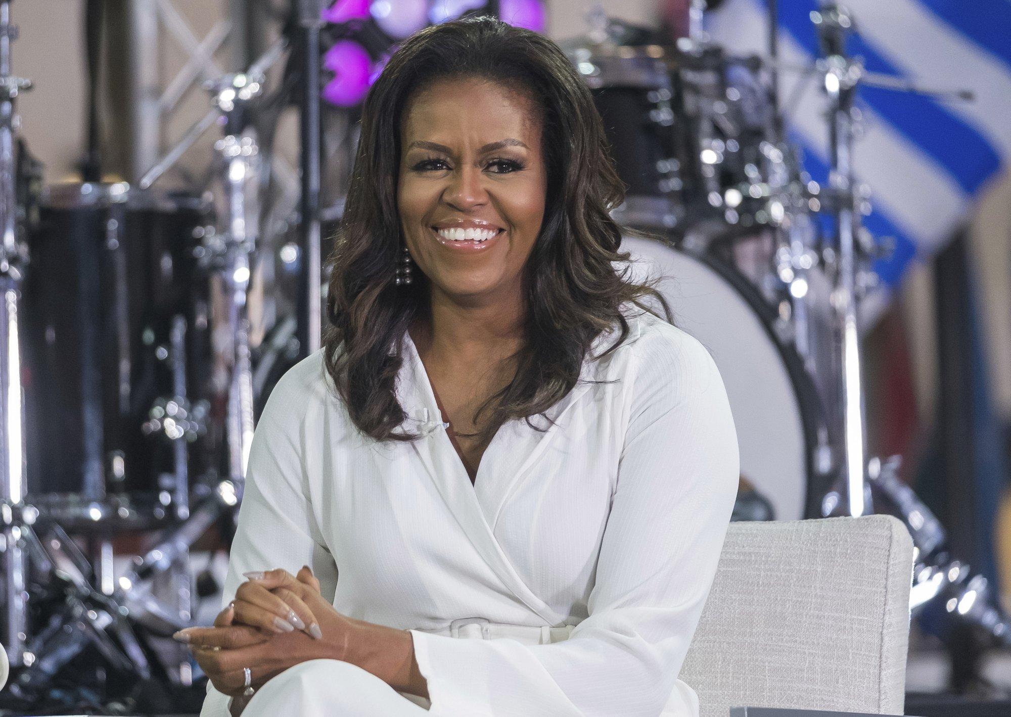 AP NewsBreak: Michelle Obama rips Trump in new book