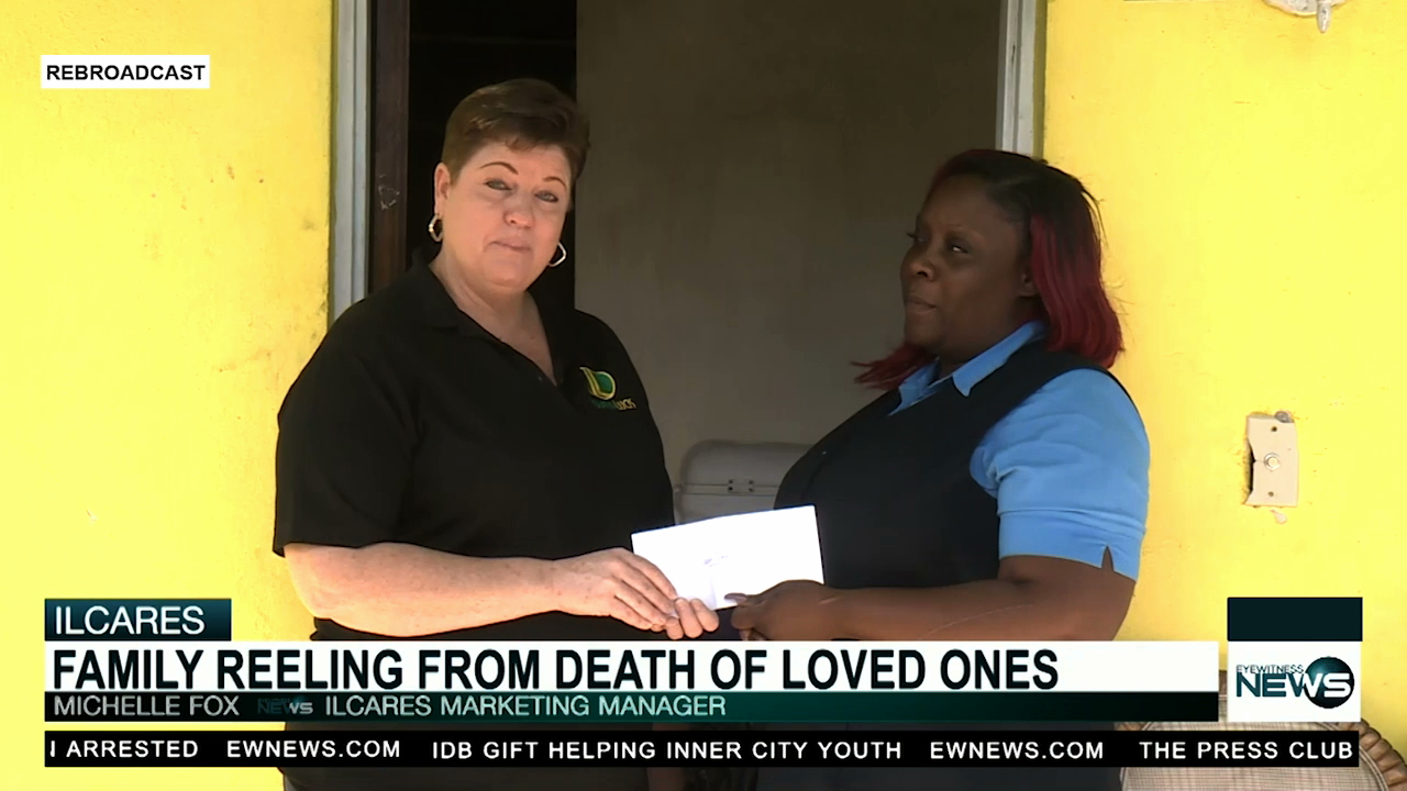 IL Cares foundation donates to grieving family