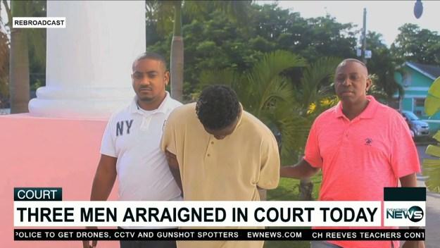 3 men arraigned in court