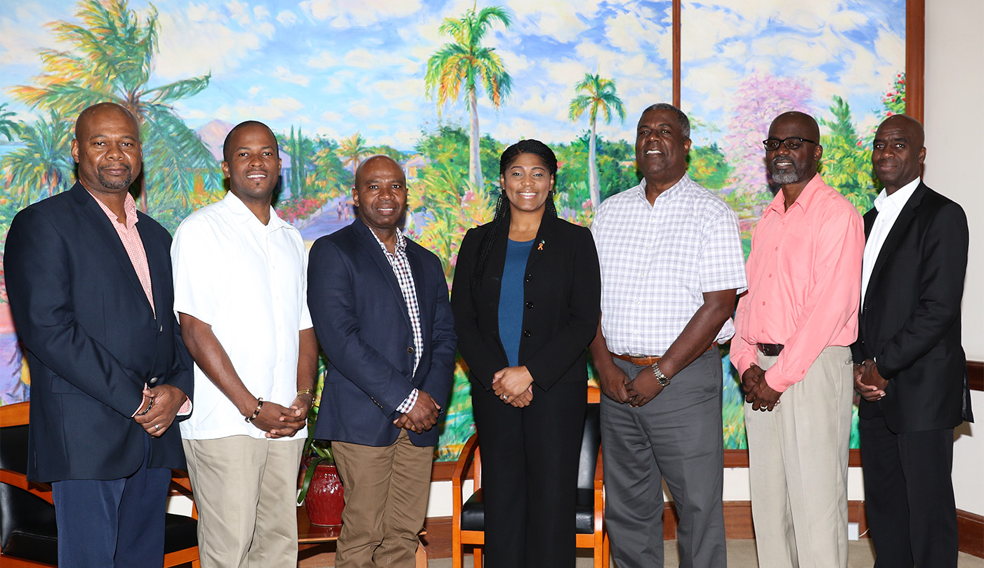 Parker-Edgecombe meets with Leaders of Communications Unions