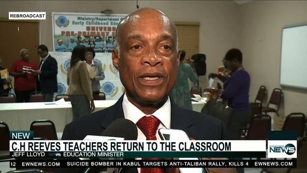 C.H. Reeves teachers and students return to Class