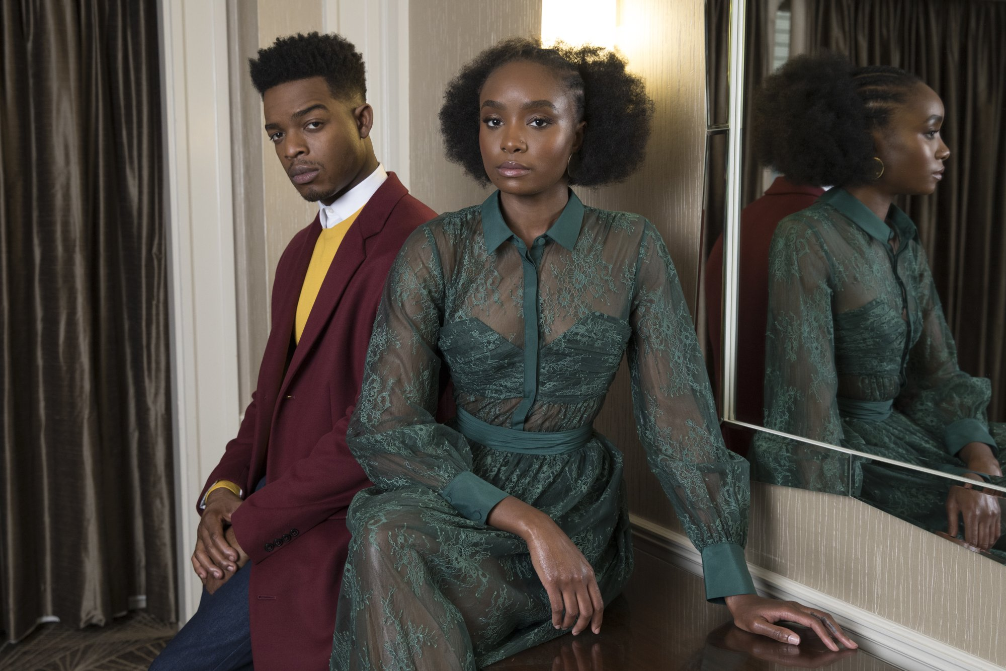 In 'Beale Street,' a radiant portrait of young black love