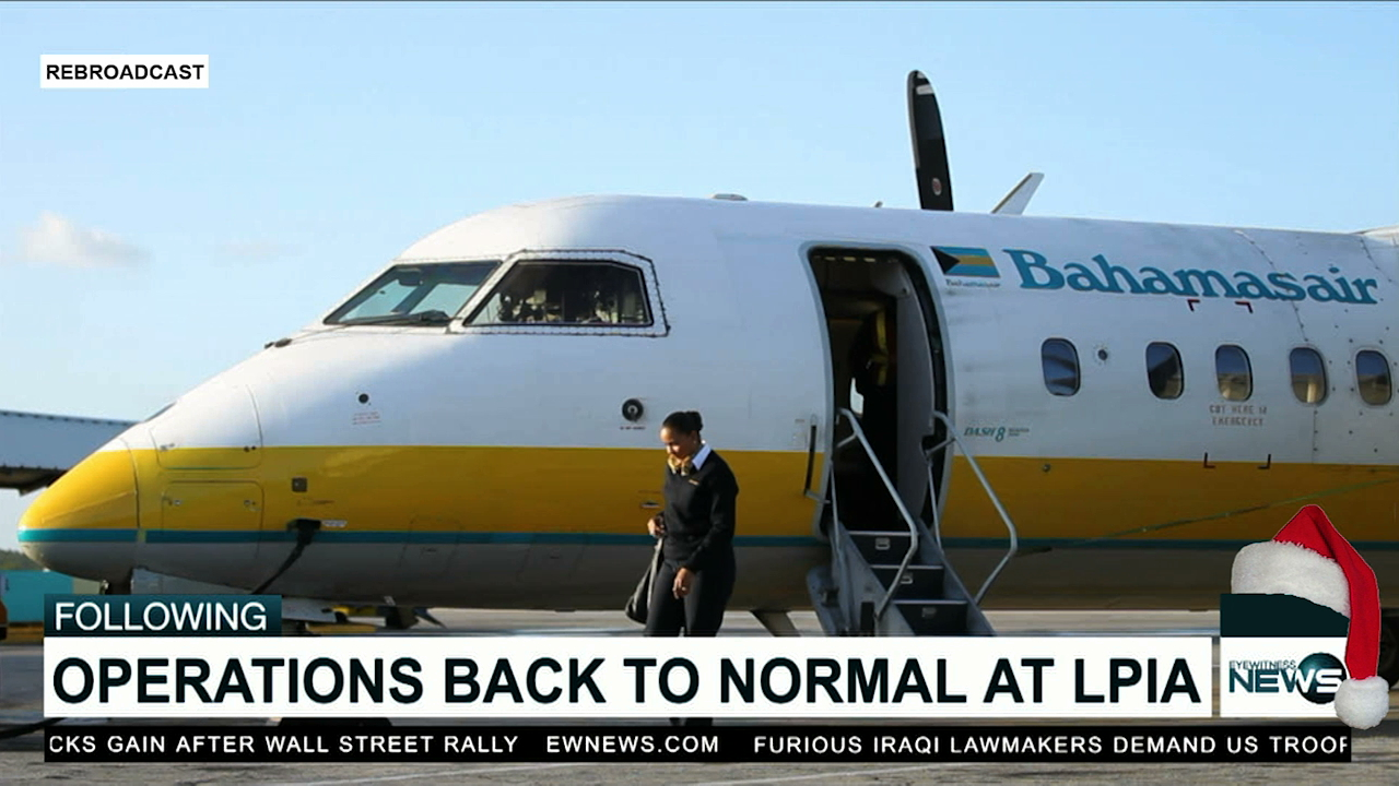 """Operations at LPIA """"leveling off"""" after last week's delays"""