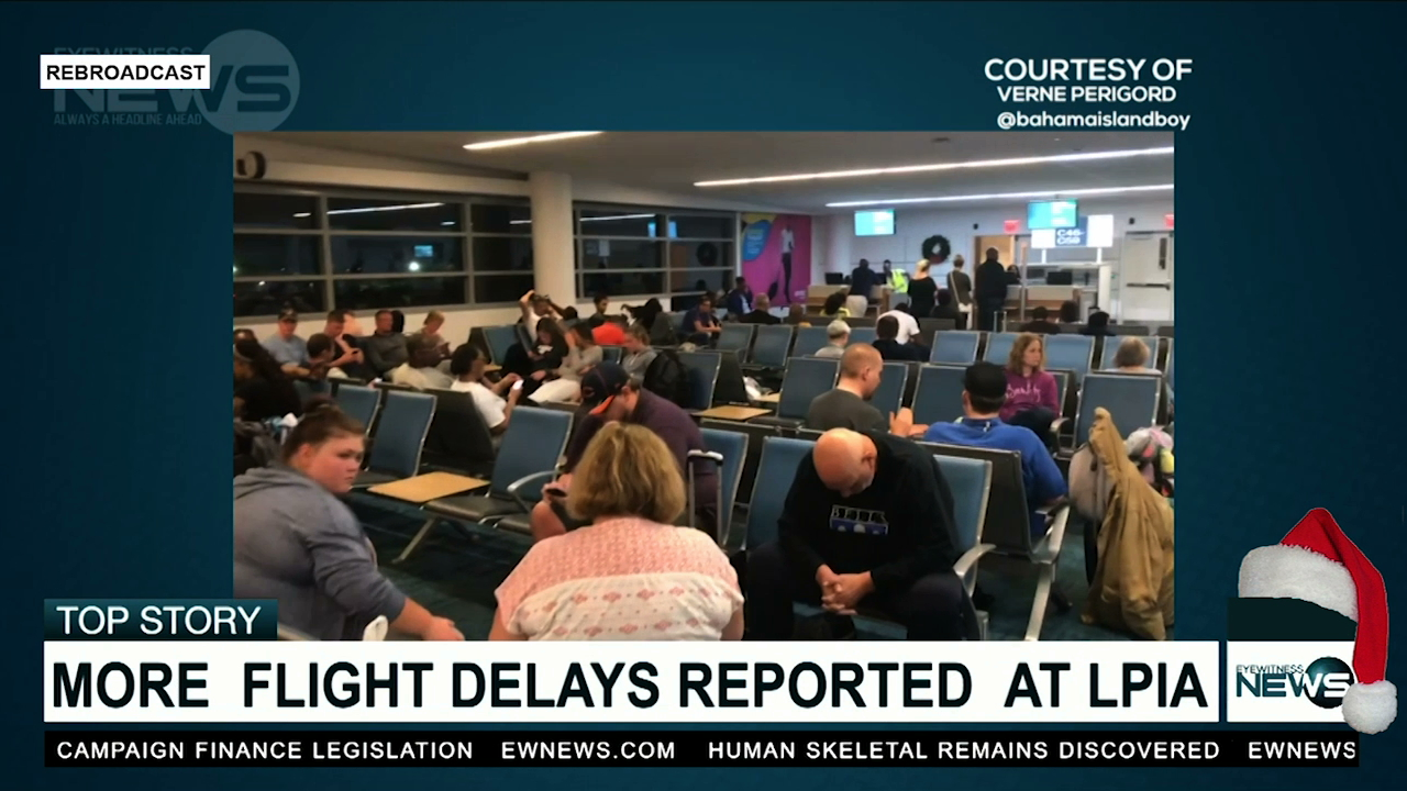 More delays at LPIA