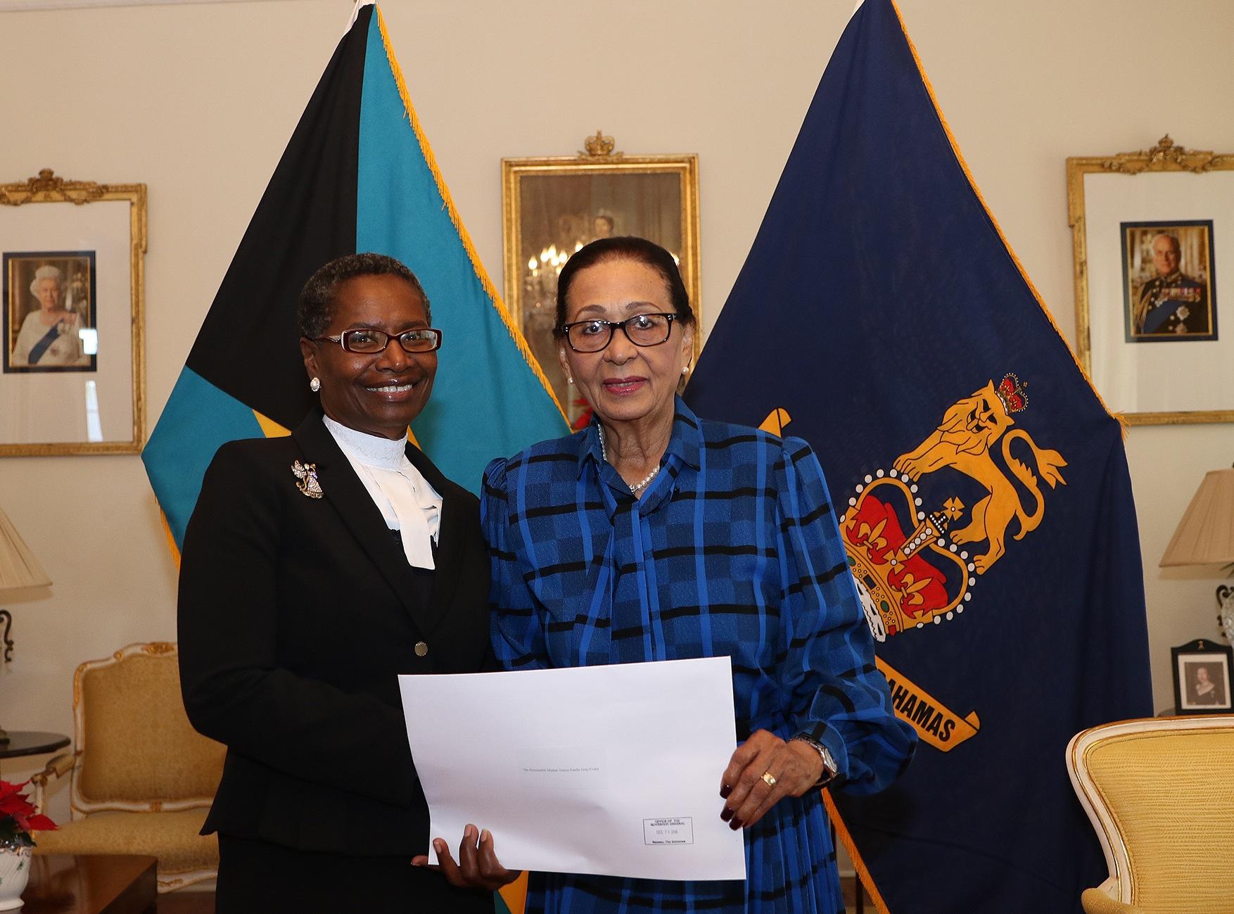 Acting Chief Justice sworn in
