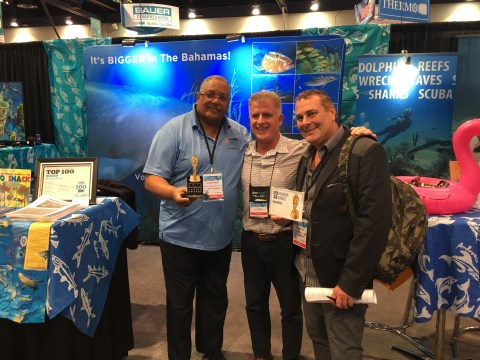Bahamas named 2019 Best Scuba Diving Destination for Big Animals, captures seven awards