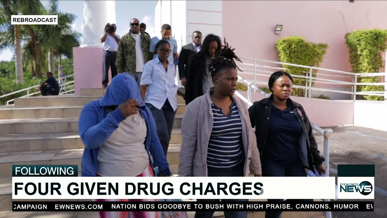 Four charged in drug seizure