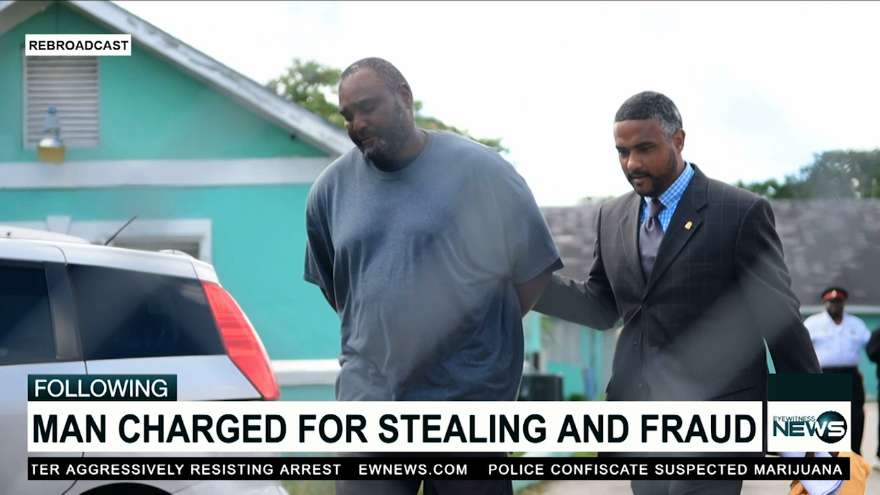 Man charged with stealing and fraud