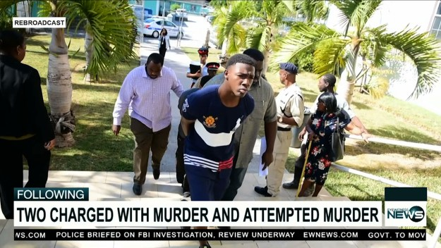 Two charged with murder