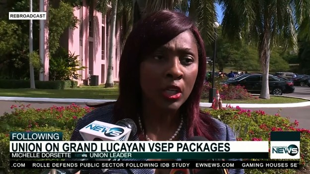 Union pleased with Grand Lucayan VSEPs